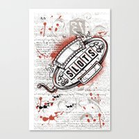 Slots Canvas Print