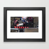 Red Solo - The Strokes Framed Art Print