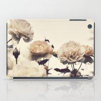 Yellow Rose Garden iPad Case