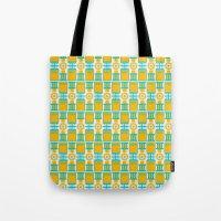 Summer Geometry Tote Bag