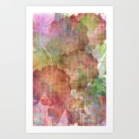 Abstract Me Art Print