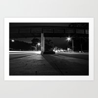 The Middle Of Two Ways Art Print