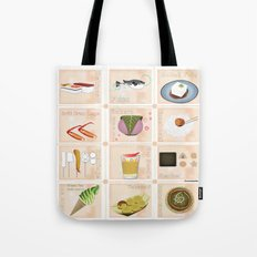 Japanese Food  Tote Bag