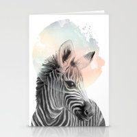 Zebra // Dreaming Stationery Cards