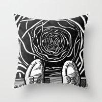 THE EDGE Throw Pillow