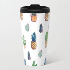 cactu and pineapple with new cactus Travel Mug