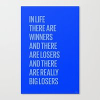 Life Losers Canvas Print