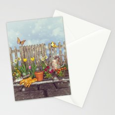 Spring Gardening Stationery Cards