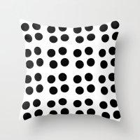 Copijn Black & White Dot… Throw Pillow