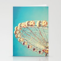 All Die Young, Ferris Wheel on Blue Sky Stationery Cards