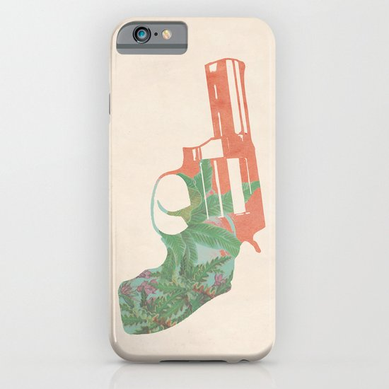 Miss scarlet, in the room, with a gun iPhone & iPod Case