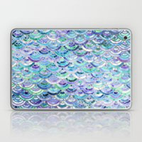 Marble Mosaic in Sapphire and Emerald Laptop & iPad Skin
