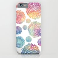 Watercolor Flowers iPhone 6 Slim Case
