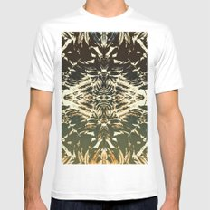 AUTUMN GHOST Mens Fitted Tee White SMALL