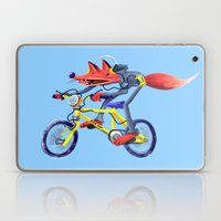 Fox Bike Laptop & iPad Skin