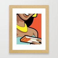 Pleasure Control Framed Art Print
