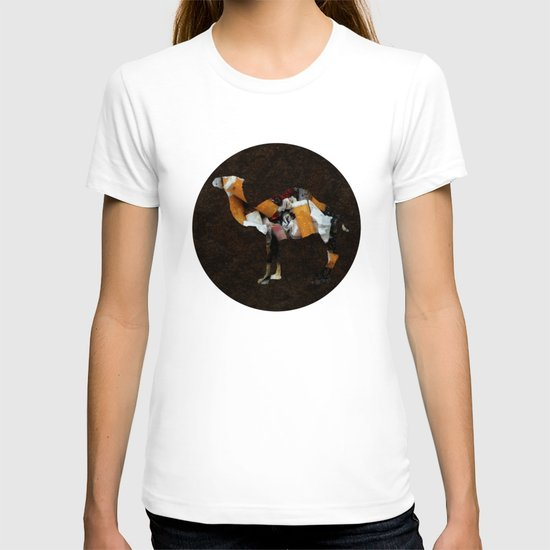 Camel Collage 3F T-shirt