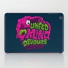 The unfed mind devours itself. iPad Case
