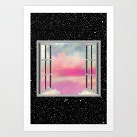 Look Into My World Art Print