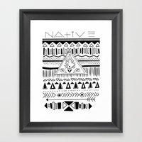N A T I V E Framed Art Print