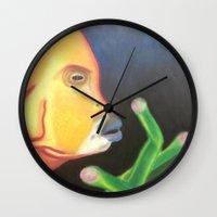 a Bright Depth Wall Clock