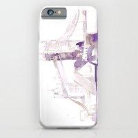 Watercolor landscape illustration_London Bridge iPhone 6 Slim Case