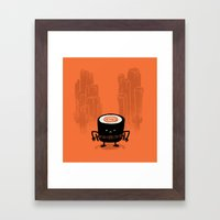 Everyone Know Me Framed Art Print