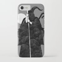 death iPhone & iPod Cases featuring Death by Gurven