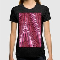Blushing Womens Fitted Tee Tri-Black SMALL