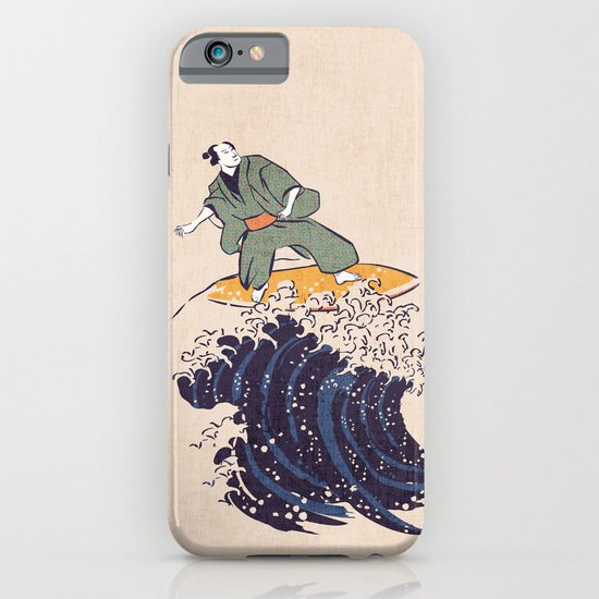 Surfing the hokusai wave iPhone & iPod Case