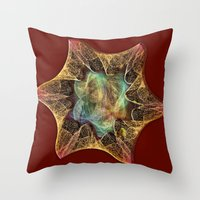My Fractal toy Throw Pillow