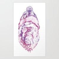 chewipster Art Print