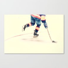 The Sport Of Hockey Canvas Print