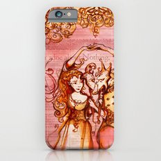 Much Ado About Nothing - Masquerade - Shakespeare Folio Illustration Slim Case iPhone 6s