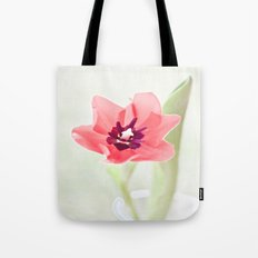 Pretty Pink Tulip Tote Bag