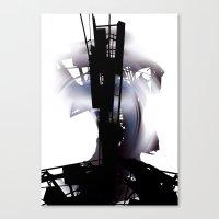 city dawn Canvas Print