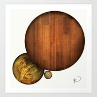 Franklin Square Balls Art Print