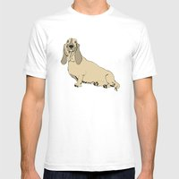 Barry Mens Fitted Tee White SMALL