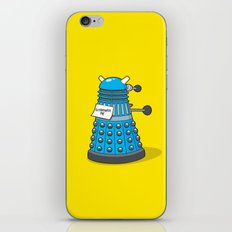 Exterminate Me Variant (Dr Who) iPhone & iPod Skin