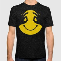 Make You Smile Mens Fitted Tee Tri-Black SMALL