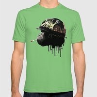 Born To Kill Mens Fitted Tee Grass SMALL