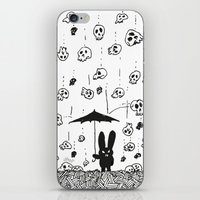 I'm Only Happy When It R… iPhone & iPod Skin