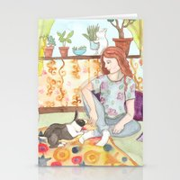Dutch and Red Stationery Cards