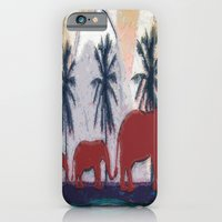 Elephants iPhone & iPod Case