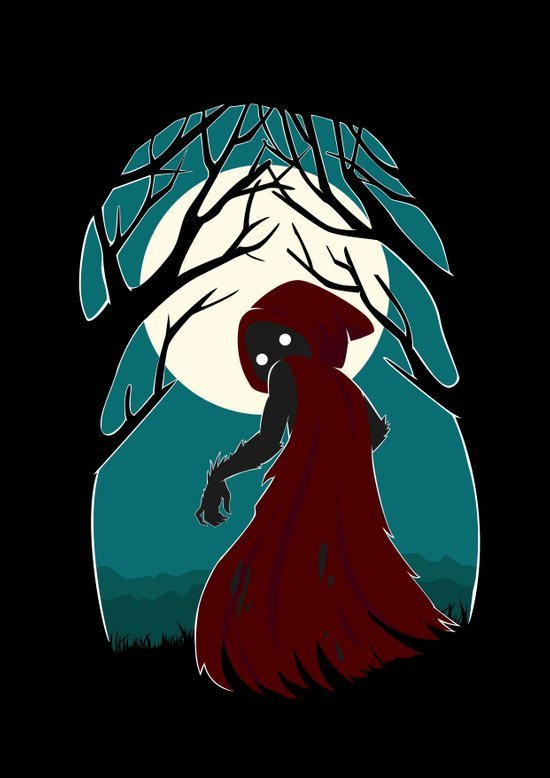 Red Riding Hood 2 Art Print