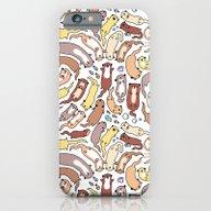Adorable Otter Swirl iPhone 6 Slim Case