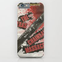 iPhone & iPod Case featuring Texas Chainsaw Massacre by JAGraphic