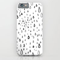 iPhone & iPod Case featuring Droplets by Fyza Hashim