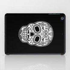 Mexican Skull - Black Edition iPad Case