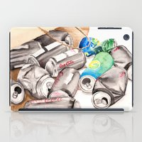 Spilled Cans iPad Case